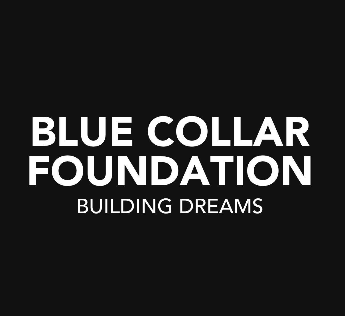 BLUE COLLAR FOUNDATION